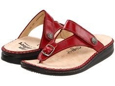 Finn Comfort Alexandria - 81524 Red Zeus - Zappos.com Free Shipping BOTH Ways