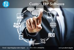 Do you know difference between an #ERPSystem and multiple software applications? http://www.prudent.digital/services/custom-erp-software.php #ERP #ERPSoftware #ERPSystem