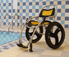 Poolpod Submersible Wheelchair, (Zwembad rolstoel Pool Wheelchair)