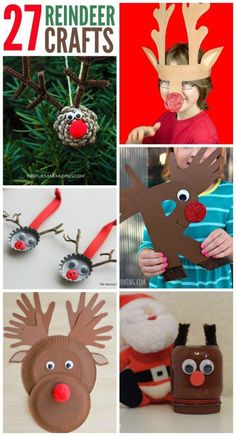 27 Adorable Reindeer Crafts To Make  1