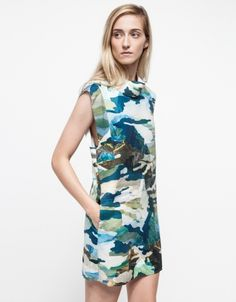 Uprising Dress: it's made of neoprene! Wish I could try it on first