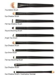 At Home Goods Galore you can shop for all your makeup essentials and more. You will love this 20 piece set of make up brushes that is sure to give you a professional look every time. These Nylon Brist