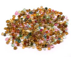 418 Pieces Natural Tourmaline Gemstone Lot, Multi Color Tourmaline 135.40 CRT, Mix Shapes and Sizes available Tourmaline Gemstone, Stone Names, How To Make Beads, Handcrafted Jewelry, Custom Jewelry, Color Mixing, Etsy Earrings, Loose Gemstones, Natural Stones