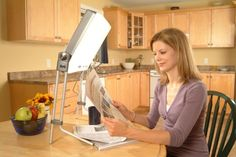 Light therapy lamps offer an excellent means of treating Seasonal Affective Disorder or SAD, which is a form of depression that occurs in winter or fall. Light Therapy Depression, Depression Treatment, Anxiety Treatment, Sun Lamp, Lamp Light, Blue Light Therapy, Mood Light, Adjustable Legs, Bright Lights