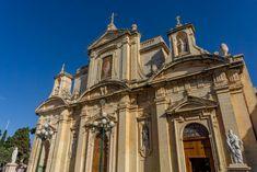 St Paul's Church in Rabat, Malta Kirchen, Dom, Malta, Barcelona Cathedral, Building, Places, Travel, Baroque, Malt Beer