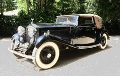 1933 Rolls-Royce 20/25 Three Position Drophead Coupe By Gurney Nutting