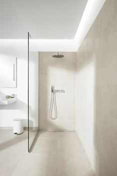 awesome 50 Stunning Wet Room Design Ideas You may think if you simply have a little space a wet room might not be feasible. A wet room […] Best Bathroom Designs, Modern Bathroom Design, Bathroom Interior Design, Bathroom Ideas, Bath Design, Tile Design, Kitchen Interior, Shower Ideas, Wet Room Bathroom