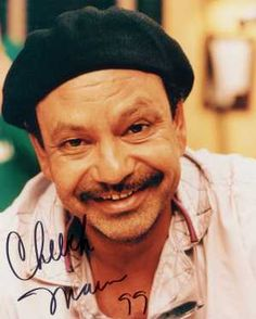 Cheech Marin.i loved listening to those cheech and chong comedy albums from the 70's.and their movies were funny too!
