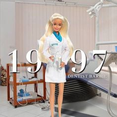 When Dentist Barbie put on her lab coat in 1997, 14% of Dentists were woman. Today, that number is up to 27% ❤️👏. ⠀⠀⠀⠀⠀⠀⠀⠀⠀ 🔁 follow us! @about_dentistry. ⠀⠀⠀⠀⠀⠀⠀⠀⠀ ⠀⠀⠀⠀⠀⠀⠀⠀⠀ 💡➡️ Tag your friends‼️ #dentistry #dentist #dentista #teeth #tooth #medical #dental #dentalhygiene #doctor #barbie #doll #md #students #medschool #girl #medicalschool #smile #college #medstudent #surgery #odontologia #odontología #aboutdentistry .