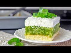 """""""Zielone jabłuszko"""" 💚- przepis na szarlotkę - YouTube Vanilla Cake, Sweets, Youtube, Desserts, Recipes, Food, Polish Food Recipes, Tailgate Desserts, Deserts"""