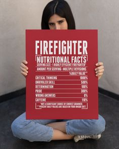 Firefighter Nutritional Facts - True Red firefighter art, firefighter training ideas, toddler firefighter #onedaycloser #firedepartment #companyofficer, dried orange slices, yule decorations, scandinavian christmas Student Teacher Gifts, Funny Teacher Gifts, Teacher Hacks, Math Teacher, Best Teacher, History Teachers, New Teachers, Chemistry Teacher, Dad Quotes