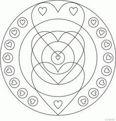 Heart Mandala Design 3 > Heart Mandala Designs   AMIND
