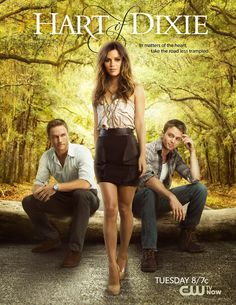 Have you ever seen a better looking love triangle? Ramping up for May Sweeps, The CW has released an all new #HartofDixie poster guaranteed to hook viewers.