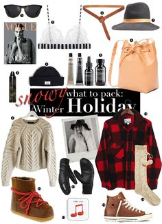 WHAT TO PACK: WINTER HOLIDAY EDITION