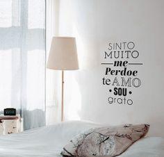 """Adesivo de Texto """"Mantra"""", by I-Stick"""