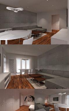 Zakończyliśmy prace nad mieszkaniem na nowym osiedlu w dzielnicy Lumumby w Łodzi. Minimalistyczne wnętrze, dużo bieli i szarości.