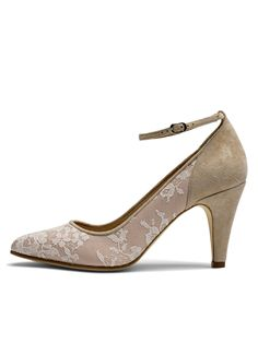 Bridal Shoes Worcester Di Hassall FLEUR_SIDE