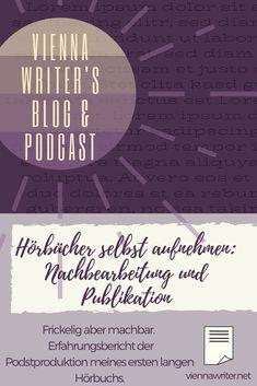 Was ist zu tun, um ein #Hörbuch ordentlich abzumischen? Spoiler: Es geht, ist aber mit etwas Einarbeitung verbunden und liegt nicht jedem*r. Aber es ist machbar. #DIY #Audio #Hörbücher #Audiobook #Postproduction #Selfpublishing #Autor #Autorin #Indieautor Indie, Self Publishing, Diy Audio, Lorem Ipsum, Lonely, Writer, Blog, Movie Posters, Writers