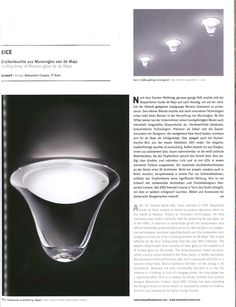 Ait magazine for #architecture & #design recently featured Bice #ceiling by #deMajo