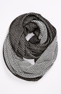 Sparkle Reversible Infinity Scarf.