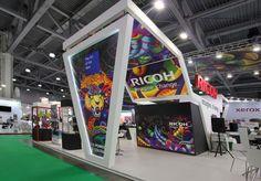 Выставочный стенд — Grafica Group. Для компании Ricoh.