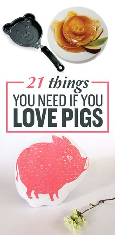 21 Adorable Things You Need If Pigs Are Your Favorite