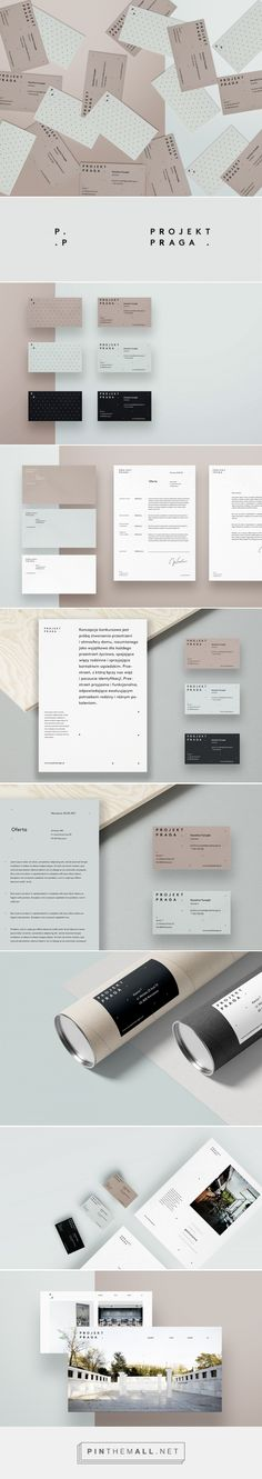PROJEKT PRAGA – visual identity for architects on Behance... - a grouped images picture - Pin Them All