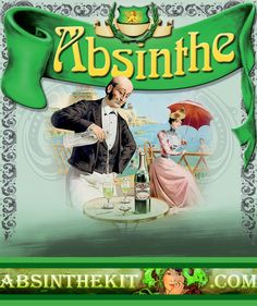 Welcome to Absinthe Kit - The only store that provides natural Absinthe never seen or tasted before. World Wide Shipping. Absinthe, Pinterest Blog, Illusions, Posters, Collections, Green, Vintage, Beautiful, Food And Drinks