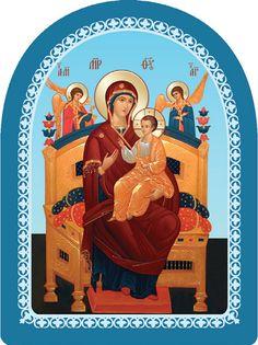 Mother of God the Pantanassa - Workshop of St Elisabeth Convent - #icon…