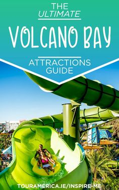 Volcano Bay is now open at Universal Orlando Resort! Check out our guide to all of the parks best rides and slides as well as information on the brand new TapuTapu. Visit Orlando, Orlando Travel, Orlando Vacation, Florida Vacation, Florida Travel, Vacation Resorts, Universal Orlando Florida, Universal Parks, Attractions In Orlando