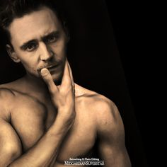 Shirtless Tom Hiddleston. by FatinFariha on DeviantArt