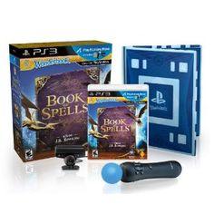 Wonderbook: Book of Spells PlayStation Move Bundle --- http://www.amazon.com/Wonderbook-Book-Spells-PlayStation-Bundle-3/dp/B0096QQDPK/?tag=hotomamoon0d8-20