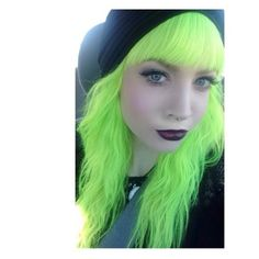 Find images and videos about dyed hair, green hair and alt girl on We Heart It - the app to get lost in what you love. Bright Hair Colors, Hair Colours, Colorful Hair, Neon Hair, Full Hair, Coloured Hair, Unicorn Hair, Cool Hair Color, Girls Be Like