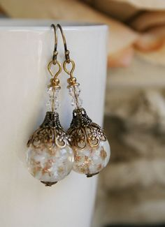 CHRISTMAS ORNAMENTS romantic Victorian style by TheVictorianGarden