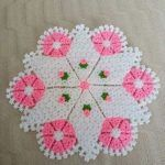 This Pin was discovered by han Doily Patterns, Easy Crochet Patterns, Baby Knitting Patterns, Vintage Patterns, Flower Patterns, Crochet Potholders, Crochet Doilies, Crochet Stitches, Teapot Cover
