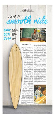 "Longboard/Skateboard coverage! ""Student Transportation"" (Student Life - Ryan Yamashita, with ""Yamashita Boards"" company)"