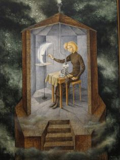 Remedios Varo,  pintora surrealista hispano-mexicana.