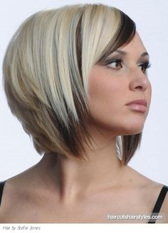 Bob Haircuts | Medium Two Tone Bob Haircut
