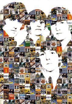 The Beatles - Mosaico de portadas