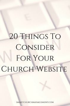 What Story Does Your Church Website Tell? | Smart Church Management