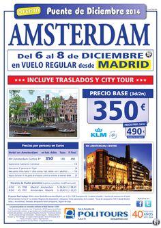 AMSTERDAM - Puente de Diciembre - salida 5 de Diciembre dsd Mad y Agp (3d/2n) precio final 490€ ultimo minuto - http://zocotours.com/amsterdam-puente-de-diciembre-salida-5-de-diciembre-dsd-mad-y-agp-3d2n-precio-final-490e-ultimo-minuto-4/