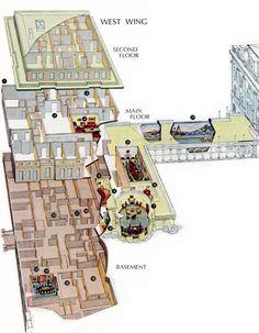 residence floor 2 - c1903 | white house - blueprints | pinterest