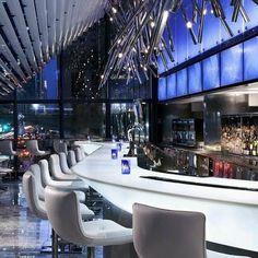 hotel restaurant Working on an bar lighting - hotel Bar Interior, Boutique Interior, Restaurant Interior Design, Lounge Design, Bar Lounge, Nightclub Design, Hospitality Design, Cafe Bar, Cafe Menu