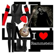 outfit of richard zven kruspe by slytheriner on Polyvore featuring Jaeger, Jigsaw, Amanda Wakeley, J.TOMSON, Boohoo, MANGO and BC Footwear