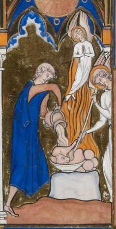 Titre :  Psautier dit de saint Louis.  Date d'édition :  1270-1274  Latin 10525  Folio 49v