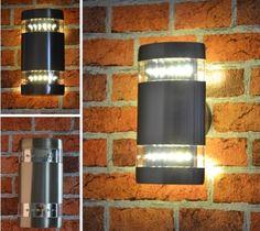 Außenleuchte Aussenlampe Wandleuchten Standleuchte Wegeleuchte LED 2,9W 404 Set (Wandleuchte 404B) #aussenleuchten