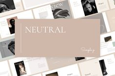 Ad: Neutral Keynote Template by Simple P. on Neutral Keynote Template is a gorgeous presentation to show your project & ideas. This multi-purpose template might help you create Effective Presentation, Portfolio Presentation, Presentation Design Template, Business Presentation, Presentation Layout, Powerpoint Design Templates, Keynote Template, Creative Powerpoint, Data Charts