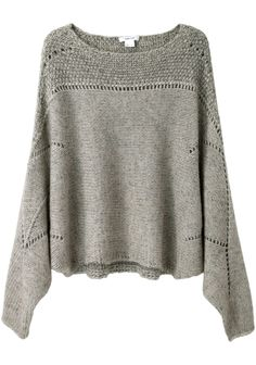 Helmut Lang Polar Knit Cropped Sweater | La Garçonne