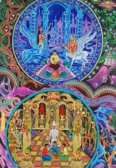 Pablo Amaringo | El arte visionario de Pablo Amaringo » pablo amaringo pinturas (10)