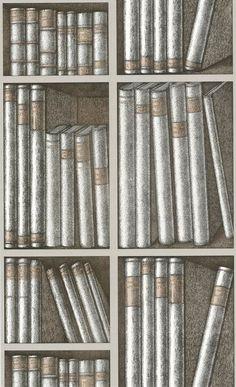 Cole & Son, Ex Libris, Brown